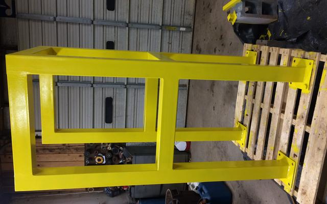 Yellow Guardrail